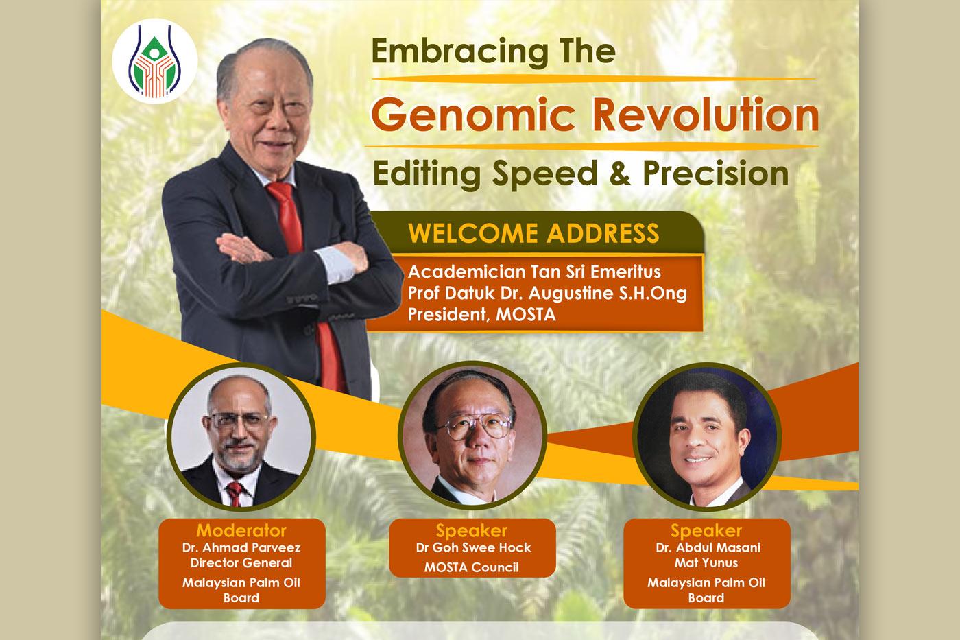 EMBRACING THE GENOMIC REVOLUTION